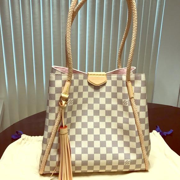 Louis Vuitton Bags   Lv Propriano Dazur Tote Bag Emilie Wallet Nwt ... e3be6492e2